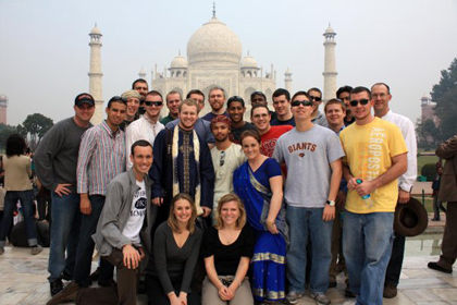 ROTC cadets in India