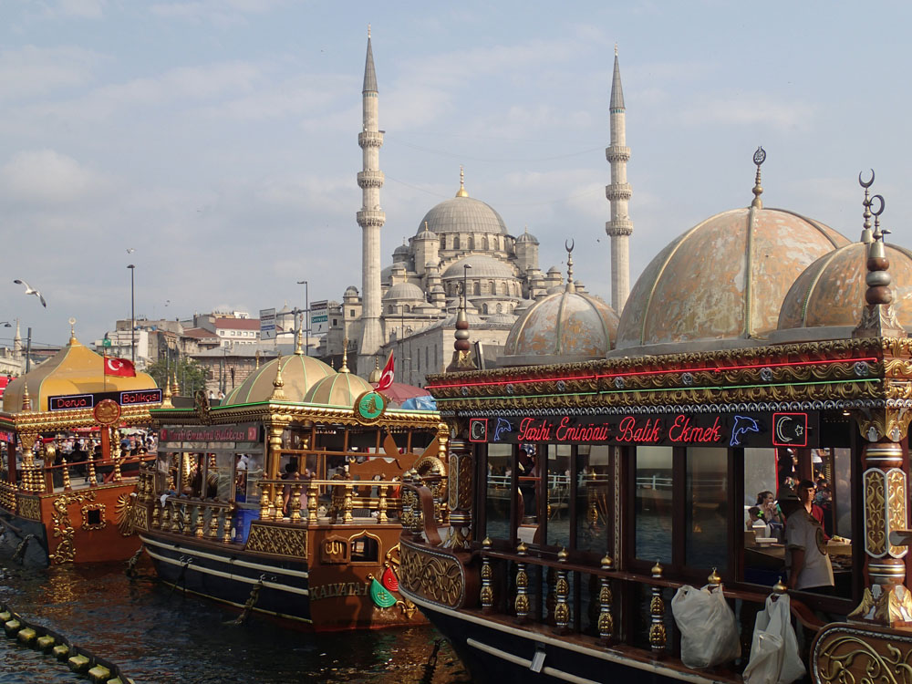 New Mosque and Fish Boat Restaurants