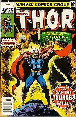 Thor trading card
