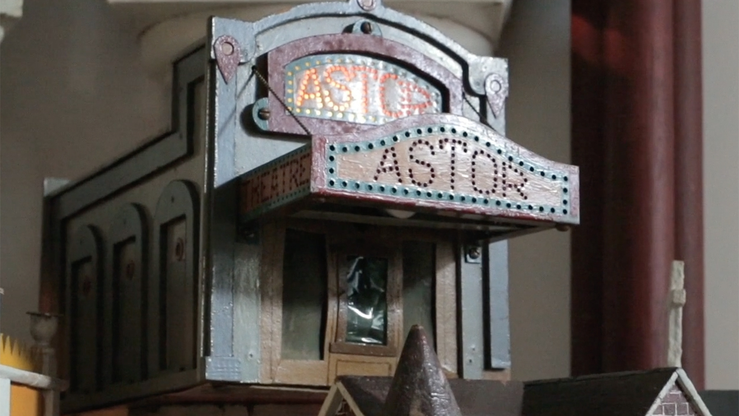 miniature rendition of Astor Theater