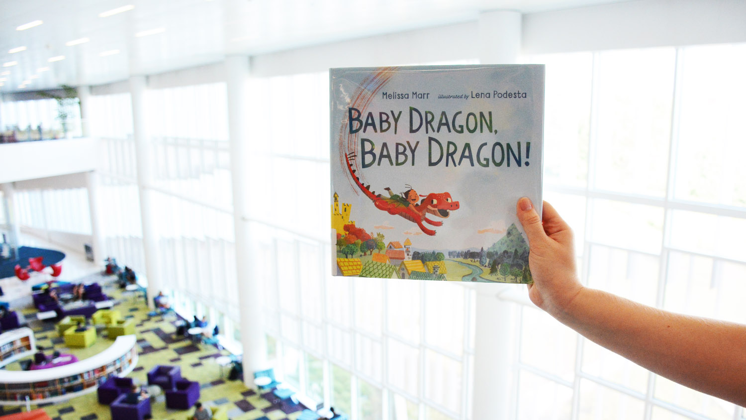 cover of Baby Dragon, Baby Dragon!