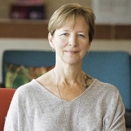 headshot of Therese Fowler