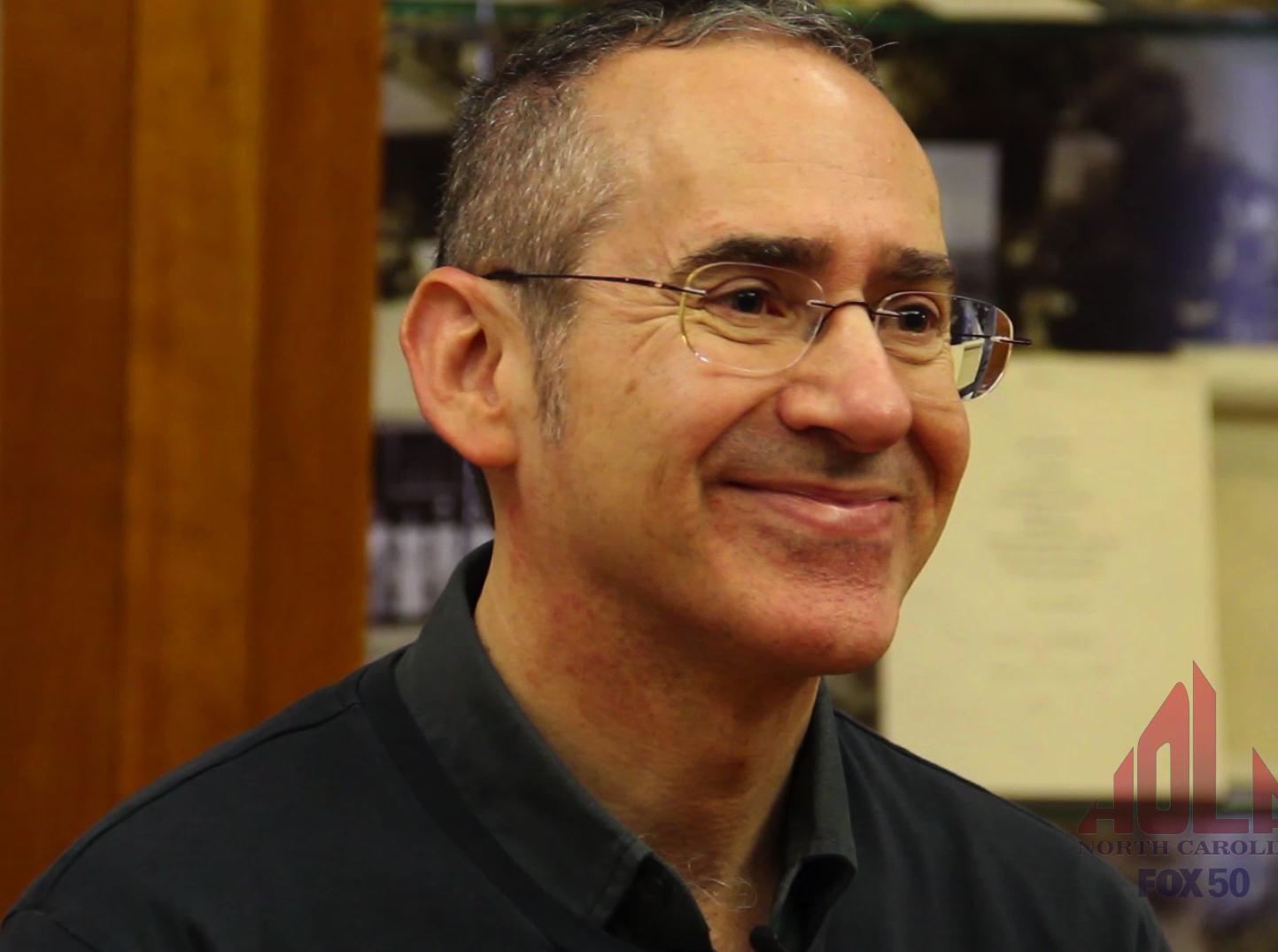 MALS Professor smiling