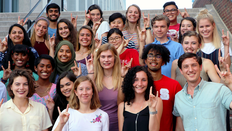 Social Innovation Fellows pose for a photo